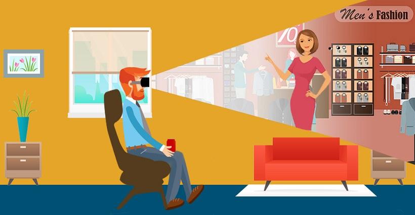 În anul 2050 cumpărăturile online vor fi realizate prin realitate virtuală sau augmentată, personalizată după preferințele utilizatorilor.